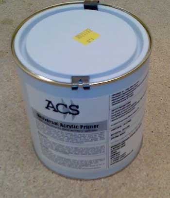 Damp and Stain Seal brushing paint primer