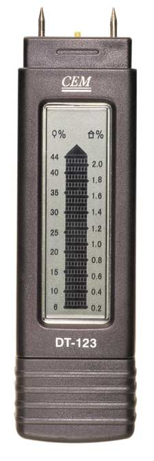 Damp Meter - Conductivity Type with two pins.
