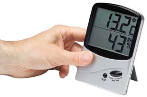 Humidity Meter - hygrometer - for use in buildings